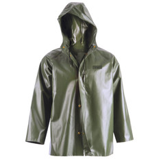 Heavy-Duty Hooded Rain Jacket - Canadian Classic - RanPro - J35 345H