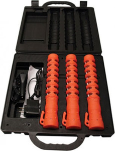 Baton-Style Rechargeable LED Flare Kit - 3 Pkg - SWS Safety - 84000