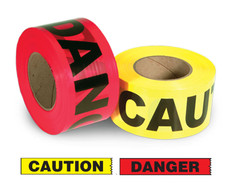 Value Grade Warning Barricade Tape 1,000 Ft Incom