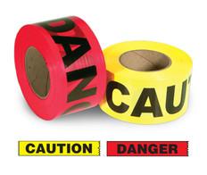 Value Grade Warning Barricade Tape 1,000 Ft Incom
