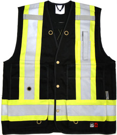 FR Open Road Surveyor Safety Vest  CSA, FR Viking - 6165FR