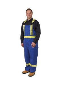 Firewall FR Striped Bib Overalls | Viking