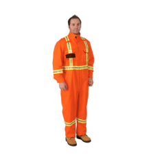 Firewall FR Striped Coveralls 9 oz. | Viking