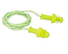 "Corded ""Comfort-Fit""  Reusable Earplugs 