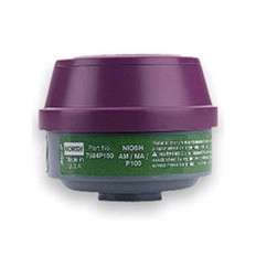 Ammonia and Methylamine Cartridge | P100 Particulate Filter | North