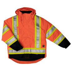 Lined 5-In-1 Safety Jacket | Class 1, 2 & 3, Level 2 | Work King