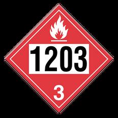 Gasoline | Class 3 Placard | Incom