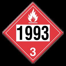 Flammable Liquid | Class 3 Placard | Incom