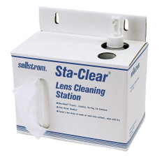Sellstrom Sta-Clear Cardboard Station - 1,000 Tissues and Spray Bottle - S23469