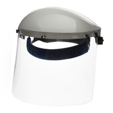 Single Crown Face Shield with Window & Ratcheting Headgear | Sellstrom