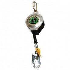 "3/16"" Galvanized Cable w/ Carabiner, Swivel Top, Snap Hook & Tag Line 