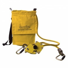 4-Person Fiber Rope HLL Kit: Tensioner / 2 Carabiners / Storage Bag (82') |