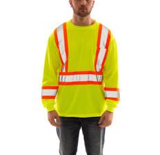 Job Sight™ Long Sleeve T-Shirt   High visibility   Tingley