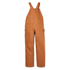 FR Bib Overall – Brown Duck Back