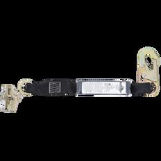 E4 Shock Absorbing Lanyard - SP - Single Leg - Snap & ADP Rope Grab  | Peakworks