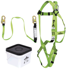 Compliance Fall Protection PIP Kit - SP Lanyard - Snap Hooks | Peakworks