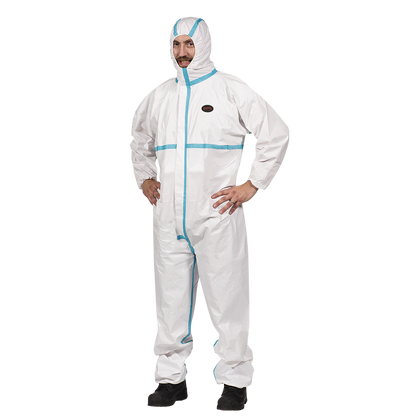 Microporous Coverall - Type 4 |Category III EN ISO 13034 Type 6 | Pioneer