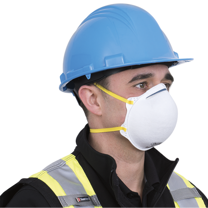 N95 Cone-Shaped Respirators - retail pack of 3 | NIOSH Approved | ( BUY NOW LIMITED QUANTITY )