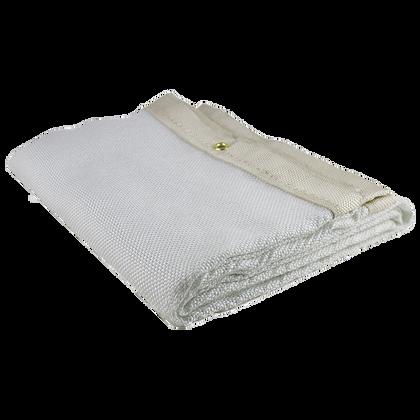 Welding Blanket - 18 oz Uncoated Fibreglass - 6'x8' - White