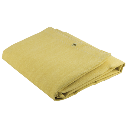 Welding Blanket - 24 oz Acrylic Coated Fibreglass - 6'x6' - Yellow