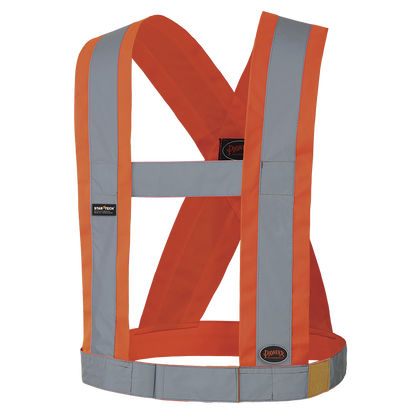 "Hi-Viz CSA 4"" Wide Adjustable Safety Sash | Pioneer"