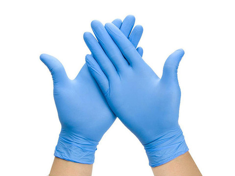 High-Five Powdered Nitrile Gloves | Latex-Free | Alliance