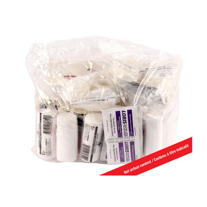 Life raft First Aid Kit - clear plastic waterproof pouch | Dynamic