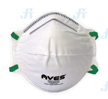 Aves N95 Respiratory Mask   Box of 20   NIOSH Approved