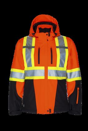 W'S Hi-Vis 3 Layer Insulated Softshell Jacket  | Projob