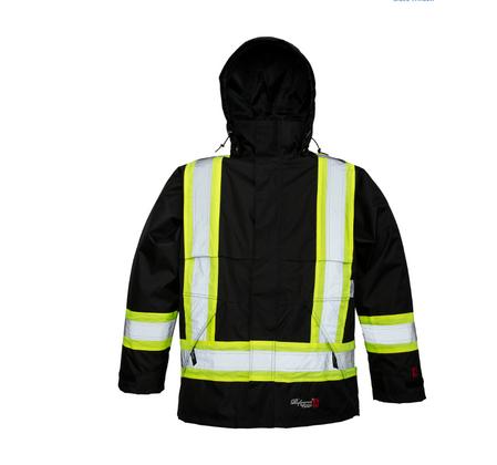 Viking Professional® Journeyman 300D Trilobal Rip-stop FR Rain Jacket   Viking