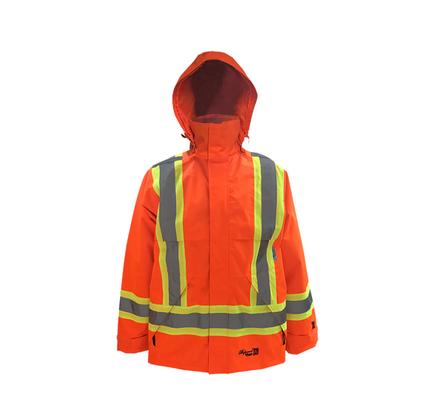 ***HATCH*** Viking Professional® Journeyman 300D Trilobal Rip-stop FR Rain Jacket Orange   Viking