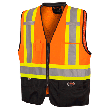 Non Tear-Away Safety Vest   Pioneer