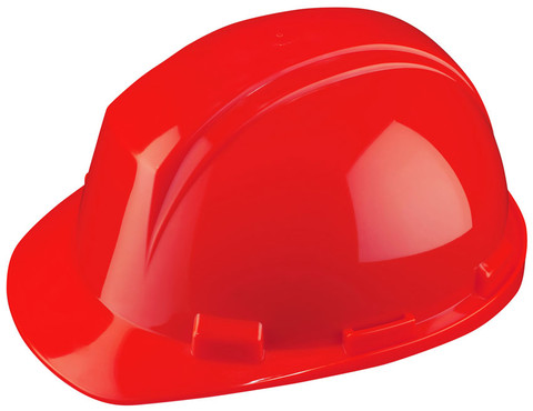 Mont-Blanc Hard Hat w/ Pin Lock - CSA, Type 2 - Dynamic HP542 Red