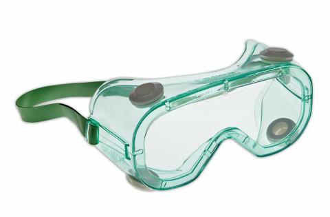 Dynamic Ultra Tek Goggles - Green/Clear