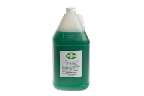 Green Liquid Soap - 4L Bottle - Dynamic FAGS4L