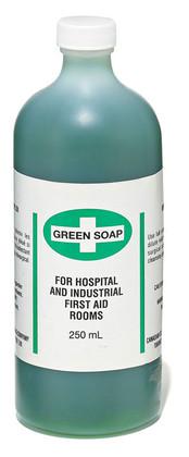 Green 15% Liquid Soap - 2 Pkg, 250 ml - Dynamic - FAGS250