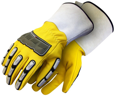 Specialty Impact Whole Wrist Mens Gloves    ANSI/ISEA 138: Impact Level 2   BDG