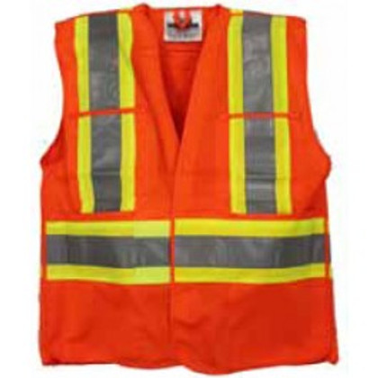 Hi-Vis Breathable Tear-Away Safety Vest | CSA, Class 2 | Viking