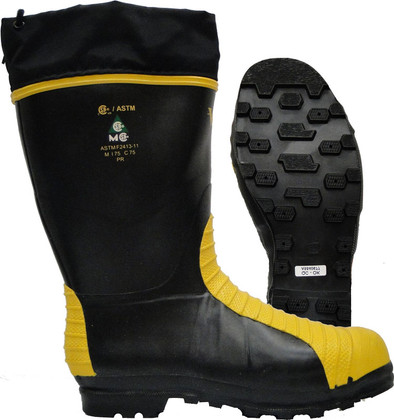 """Met-Guard Safety Boot with Nylon Cuff - Reg 14"""" Viking - VW42"""