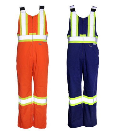 Hi-Vis Tear-Resistant Safety Overall CSA, Class1 - Viking - VC40O/VC40N