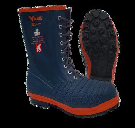 Lace-Up Steel Toe Guard Boot - FR, MET, CSA, Class 1 - Firewall Viking VW53-1