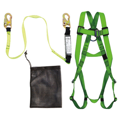 4' Compliance Fall Protection Kit SP Lanyard - FK-004