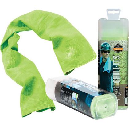 Chill-Its Cooling Towels - PVA - Ergodyne - SEI753 Lime