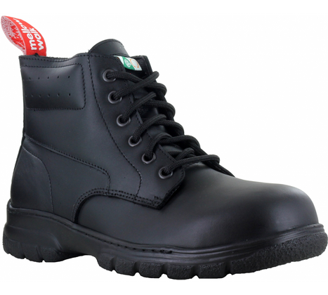 Maddy Women's Light-Duty Leather Safety Boot | Steel Toe, CSA | Mellow Walk