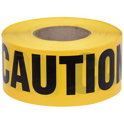 CAUTION Warning Barricade Tape - 1,000 Ft - Pioneer - 387