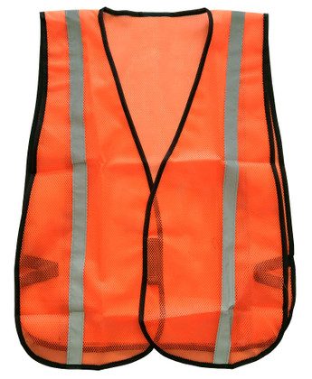 Hi-Vis Lightweight Mesh Safety Vest Viking 6101O