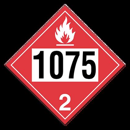 Anhydrous Liquefied Petroleum Gases | Class 2 Placard | Incom