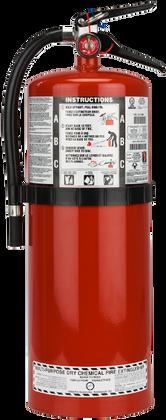 20 LB. ABC MULTI-PURPOSE DRY CHEMICAL PORTABLE FIRE EXTINGUISHER