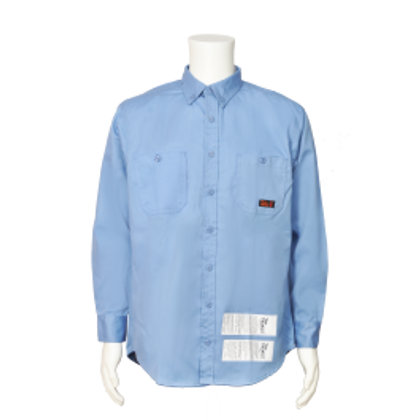 Button Front Shirt - 7 oz. Westex® by Milliken® Flame Resistant Fabric - 88% Cotton / 12% Nylon | Viking® Firewall FR®