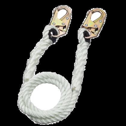 """Restraint Lanyard - 5/8"""" Rope - Snap Hooks    Peakworks"""